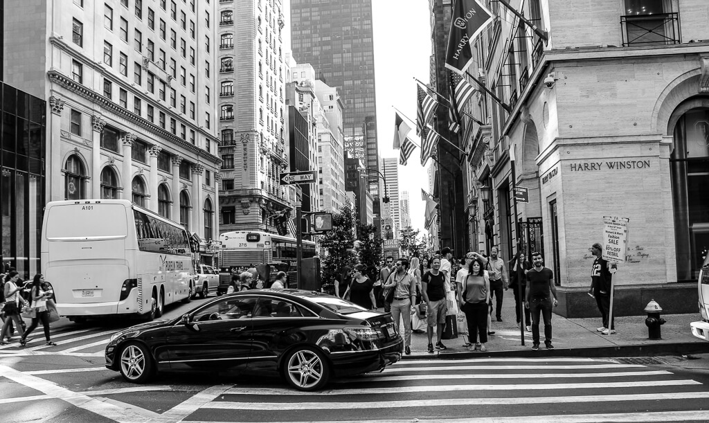 Shopping on Fifth Avenue
