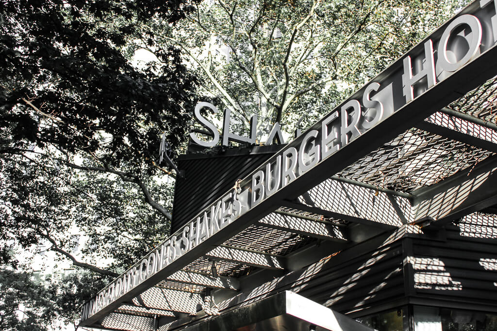Best Burger in New York City Shake Shack Madison Square Park
