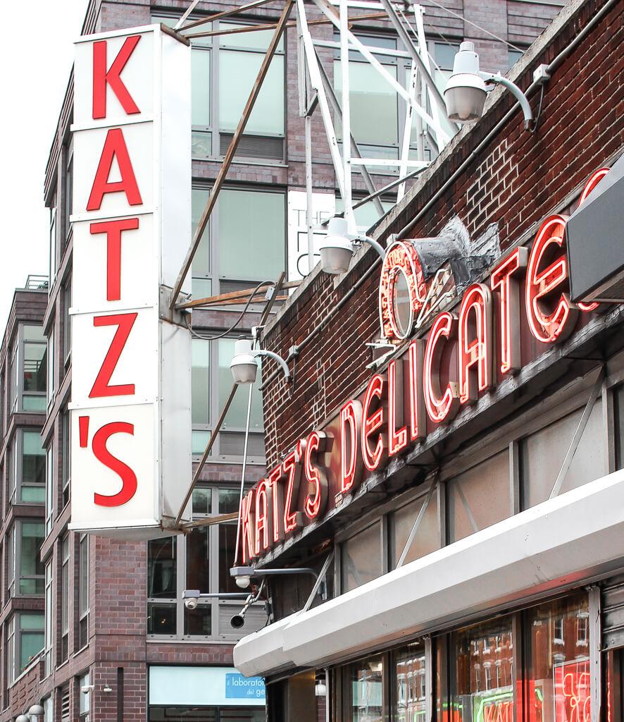 Pastrami Sandwich Katz's Delicatessen
