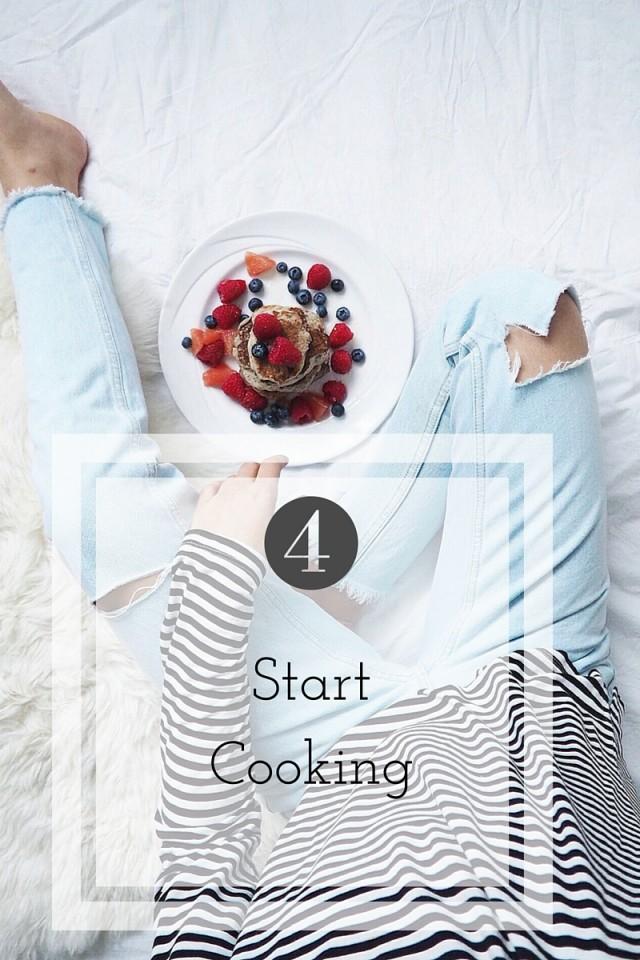 start cooking