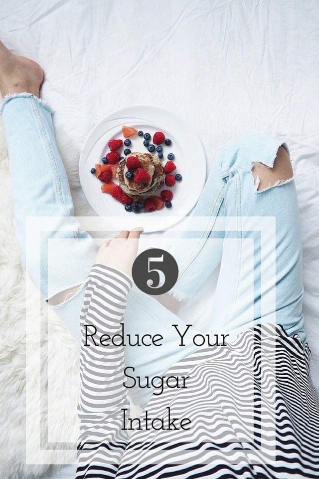 reduce your sugar intake