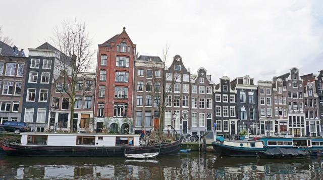 Amsterdam Grachtenhaus