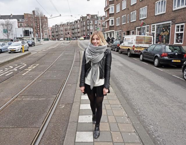 Fashion Blogger in Amsterdam