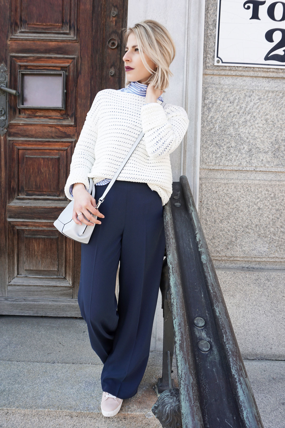 Pleated Pants Are Back