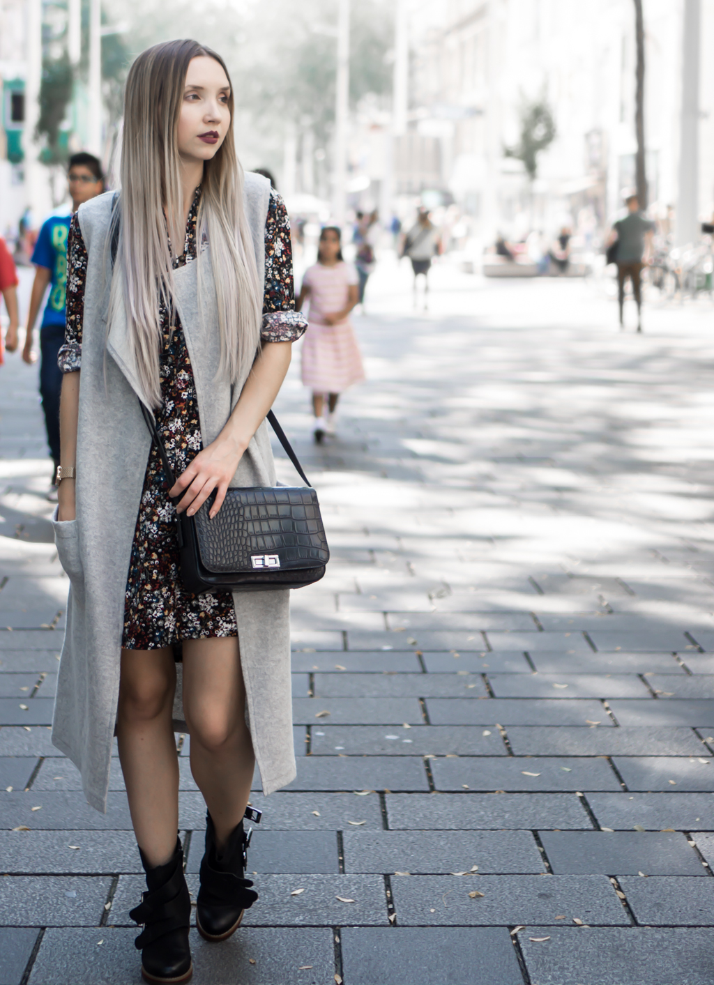 Floral Print in Fall/Winter