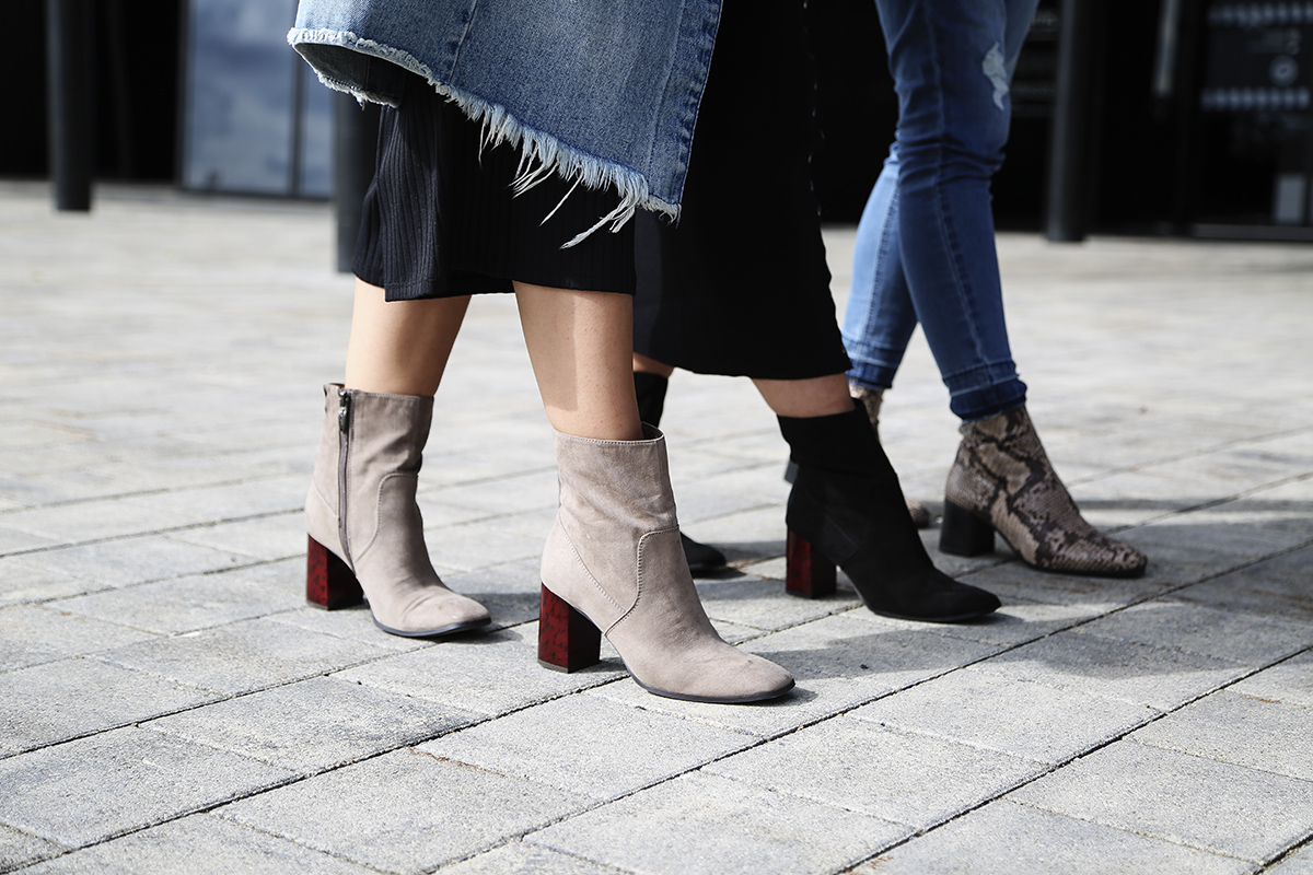Boots ankle heels how to wear 2019