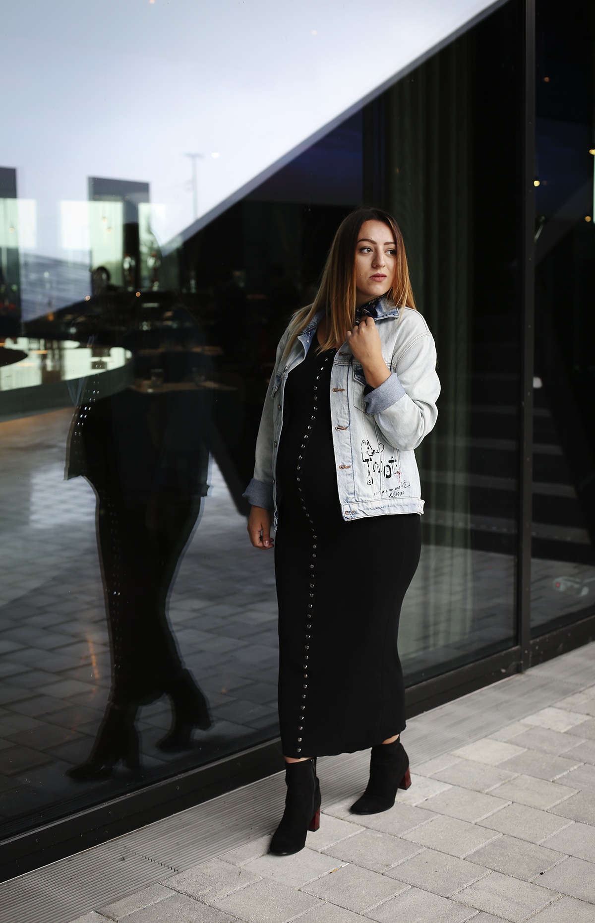 How to Wear Block Heels Ankle Boots