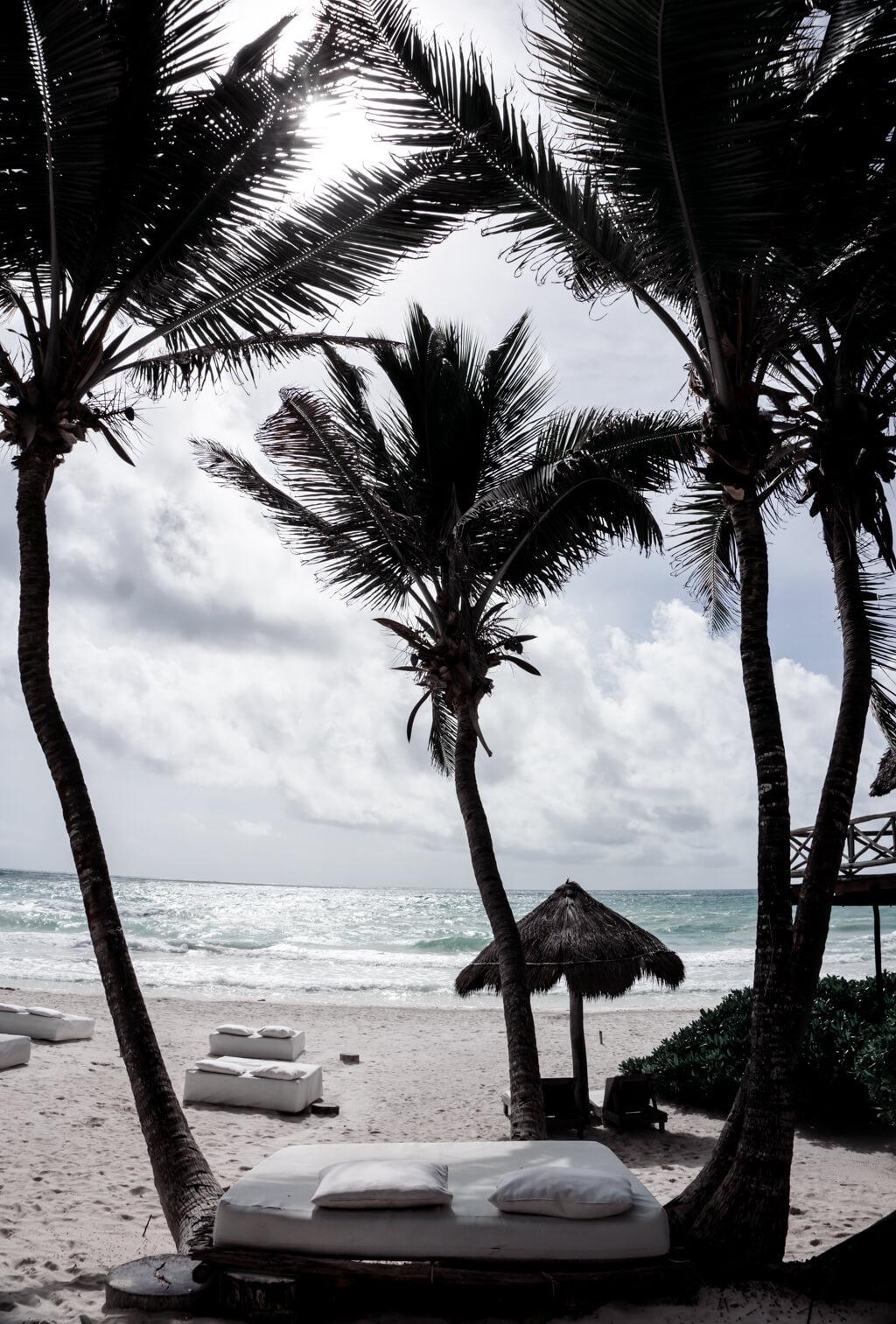 Tulum Mexico Beach