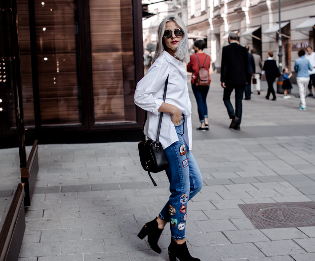 How To Style: Mom Jeans
