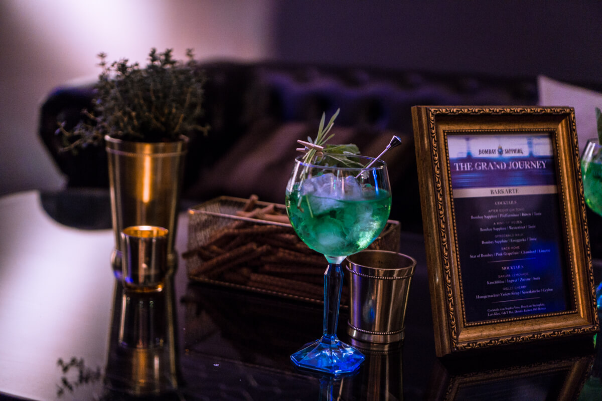 Bombay Sapphire The Grand Journey