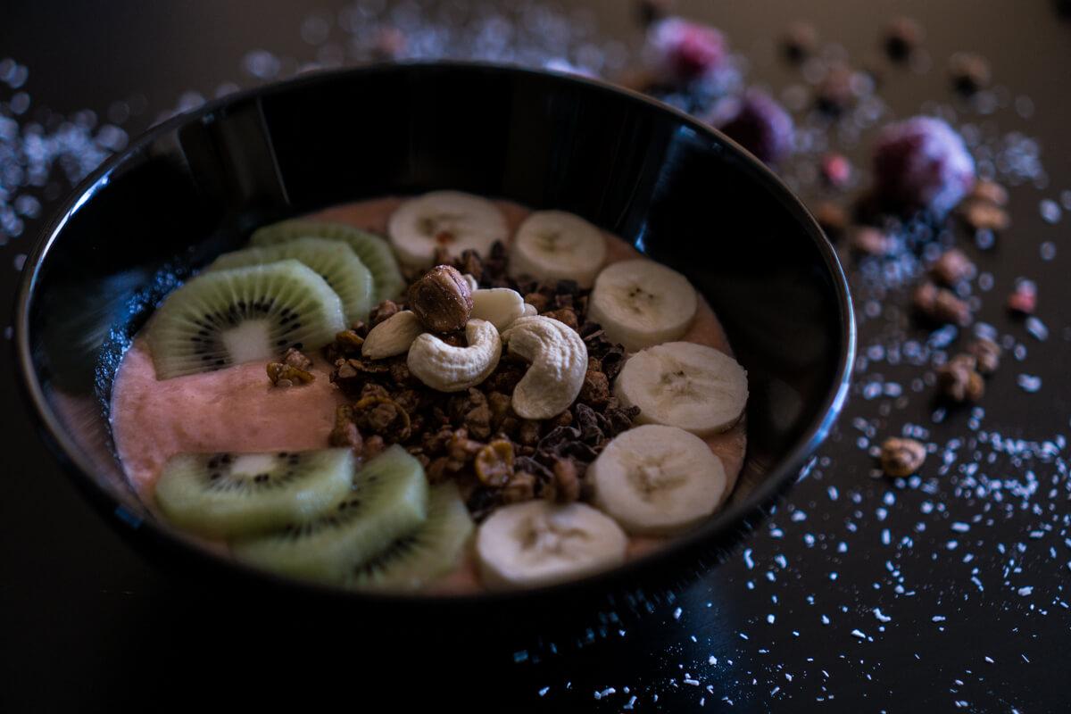 Berry Banana Vegan Smoothie Bowl
