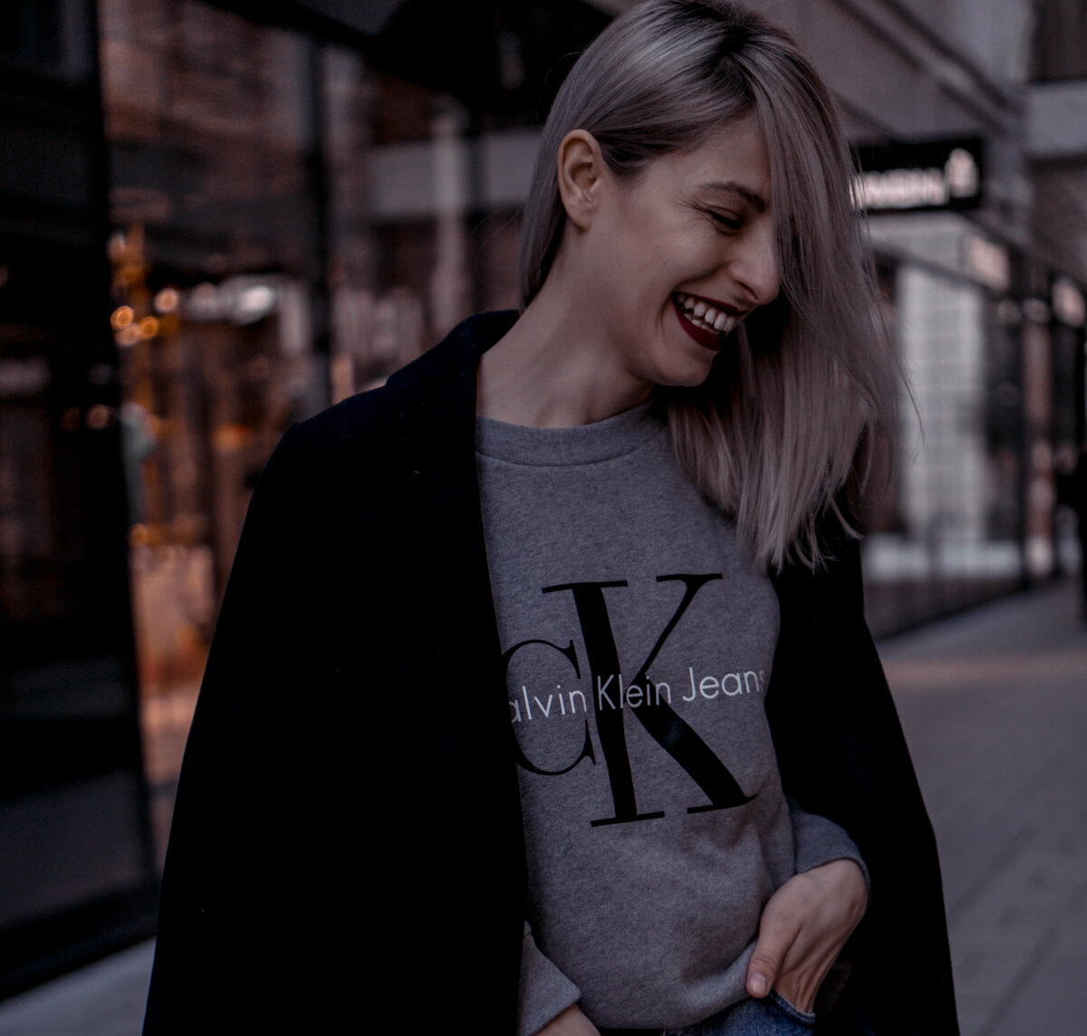 Calvin Klein Logo Sweater by The Cosmopolitas