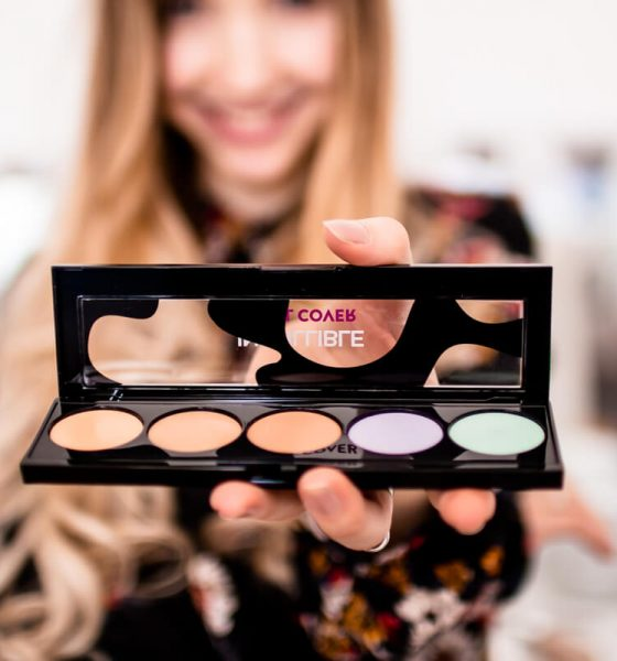 HOW TO: COLOR CORRECTING WITH L'ORÉAL PARIS INFAILLIBLE TOTAL COVER PALETTE + GIVEAWAY