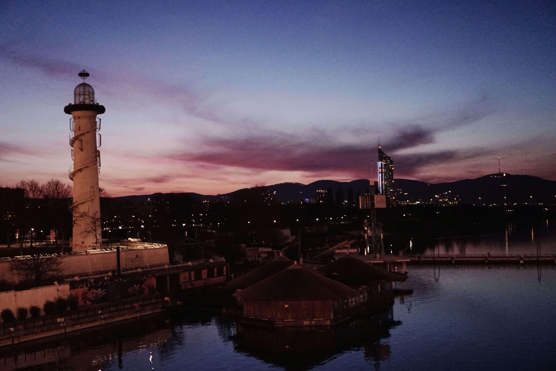 Wien Sonnenuntergang