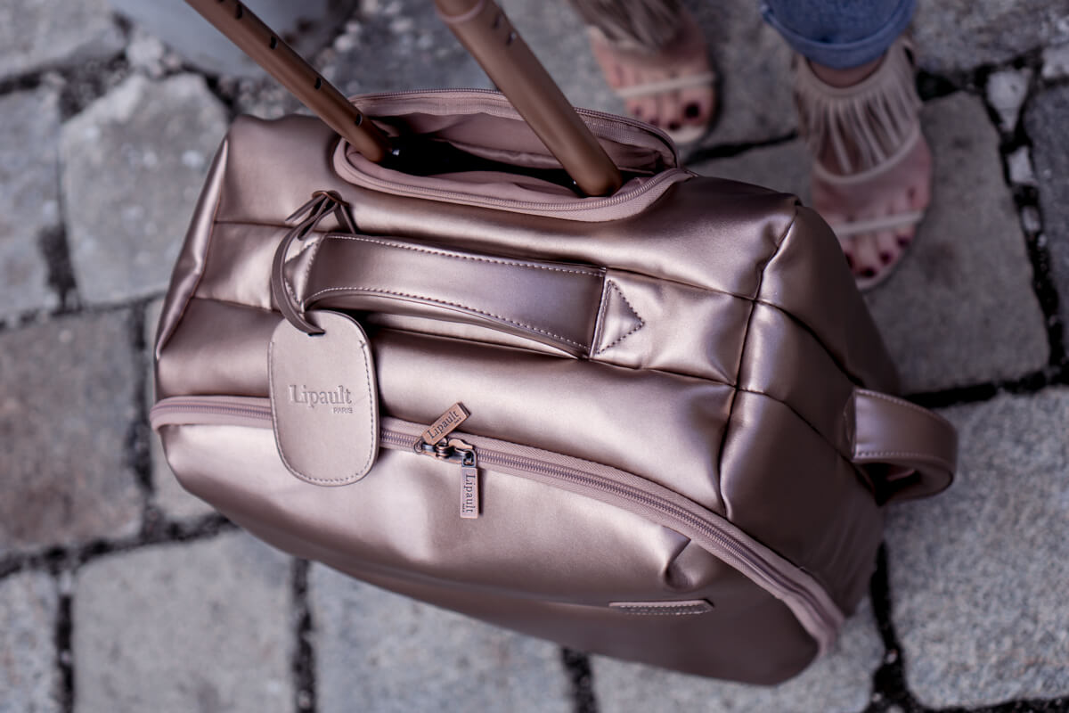 Lipault Suitcase Rose Gold by The Cosmopolitas Vienna