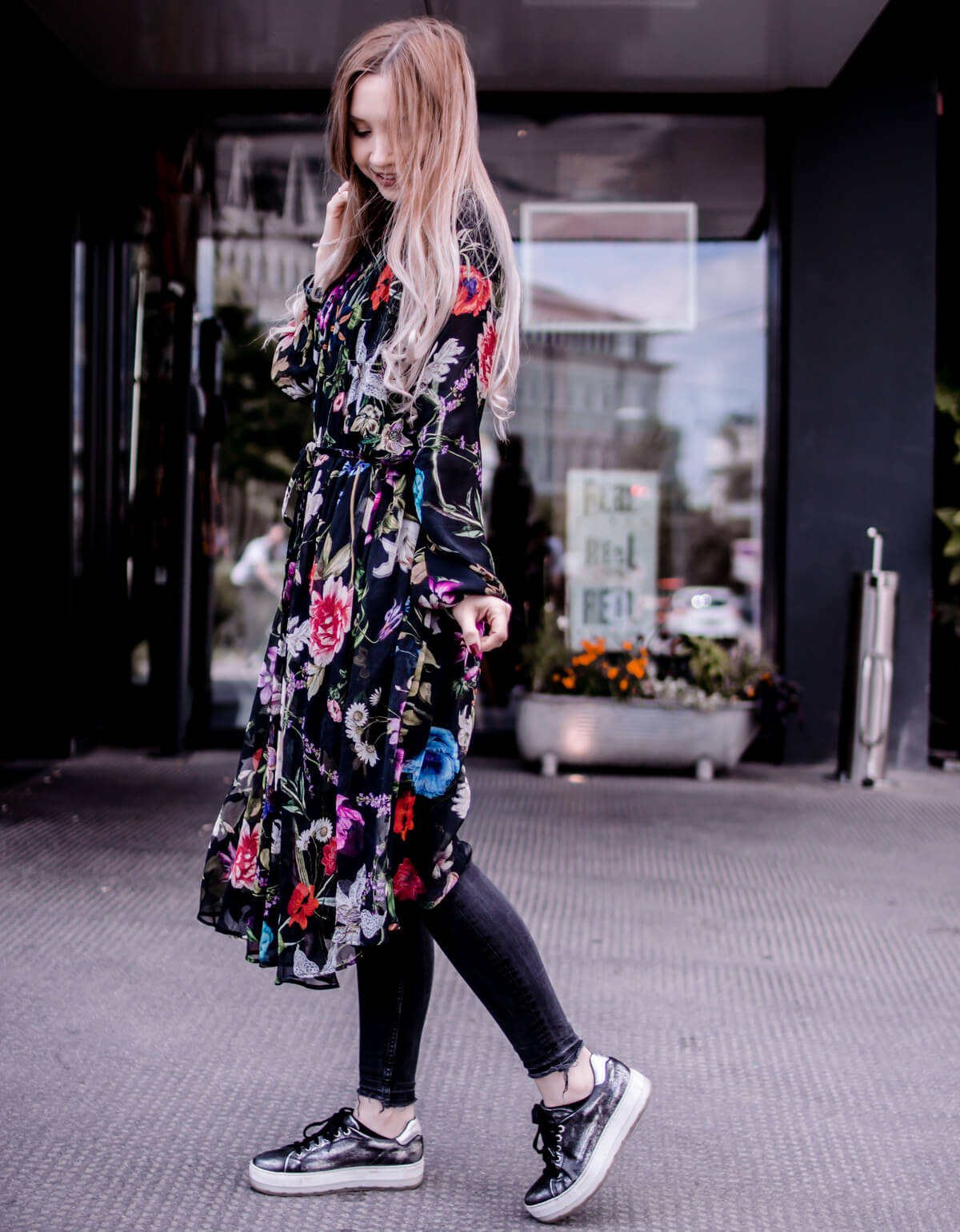 Replay Floral Dress