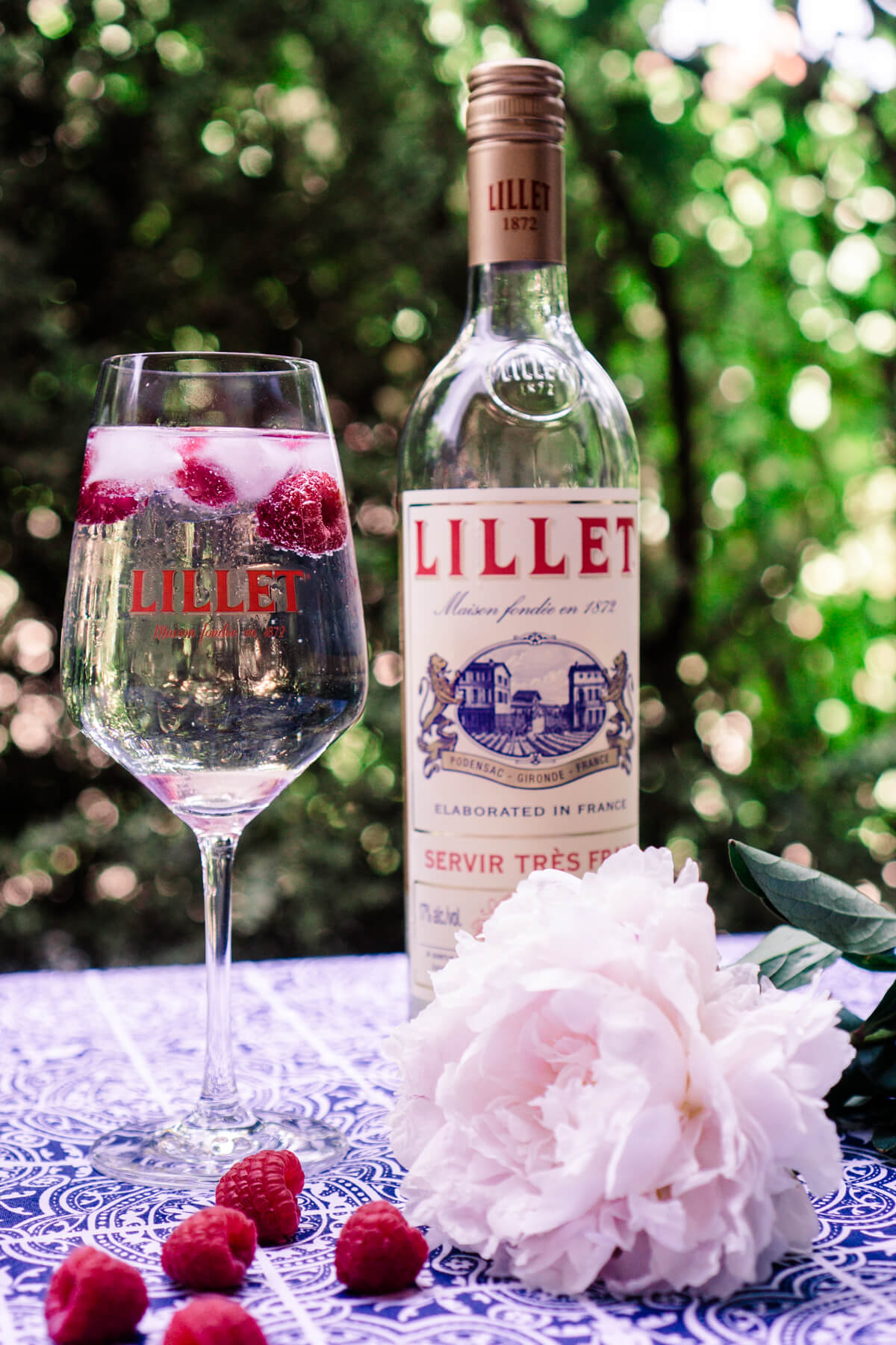 Lillet Himbeer Tonic