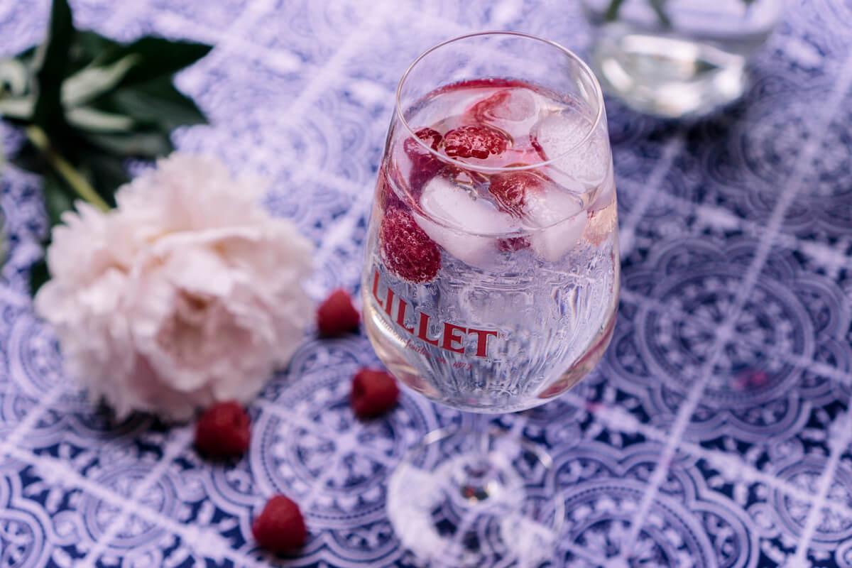 Lillet Raspberry Tonic Spritzer