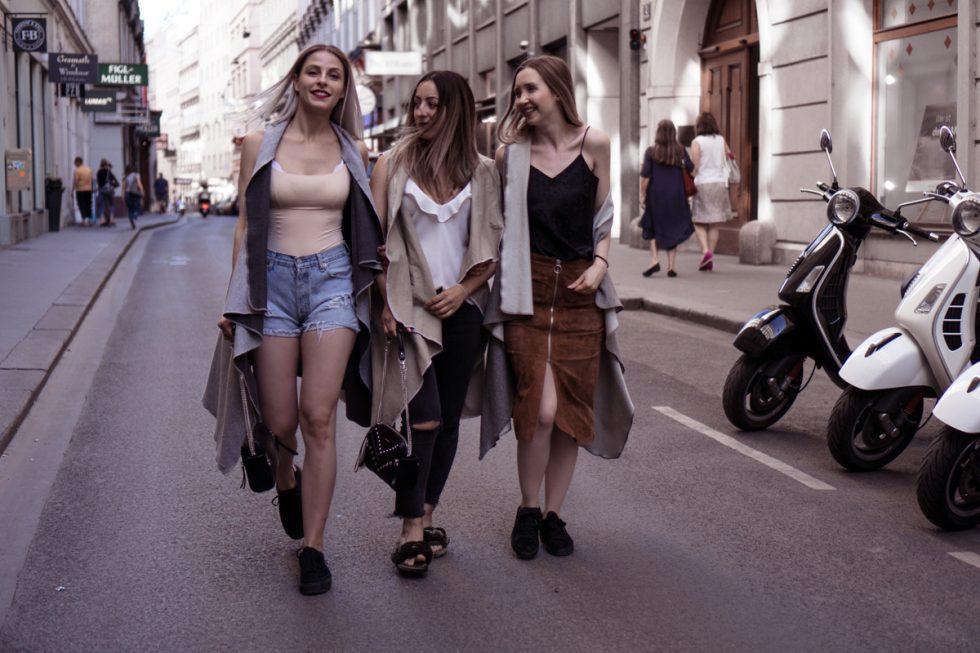 The Cosmopolitas: Timo, Kaja & Sara