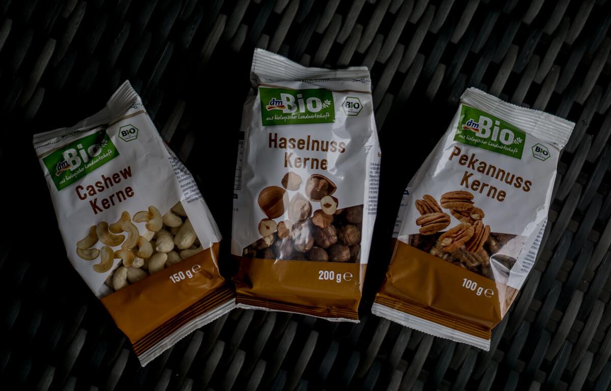Nüsse für Granola dmBio