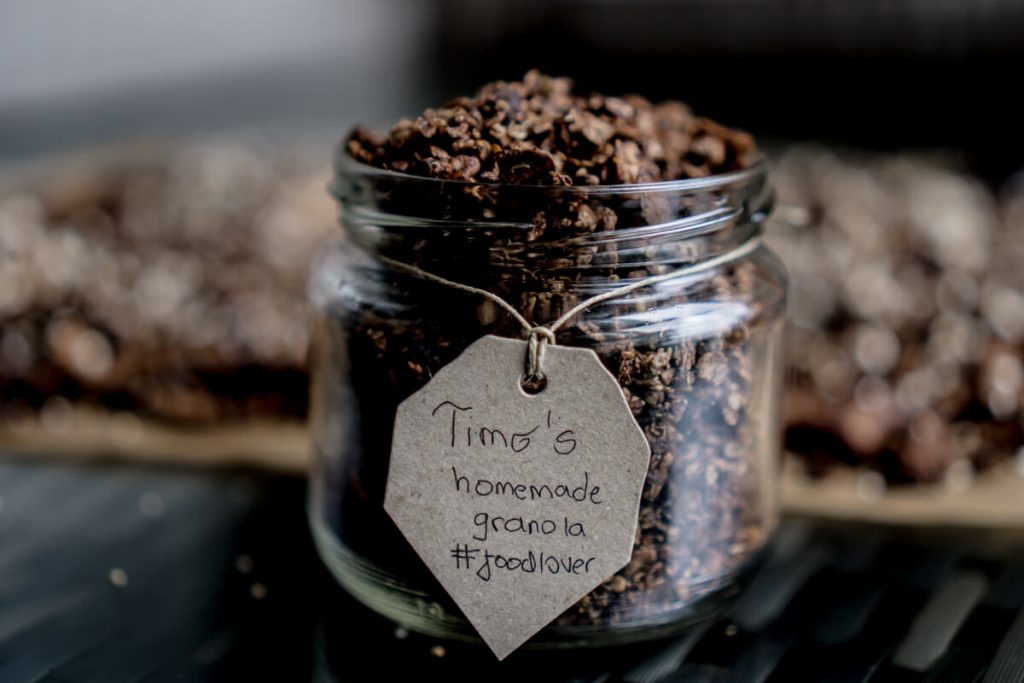 Homemade chocolate granola by Timo The Cosmopolitas