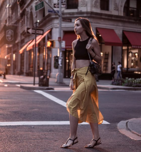 ONE TREND – DIFFERENT STYLES: THE WRAP SKIRT | NYC OUTFIT NO. 1