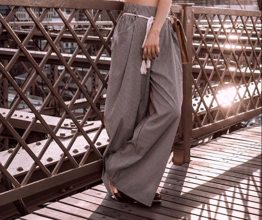 How to style Palazzo pants by The Cosmopolitas