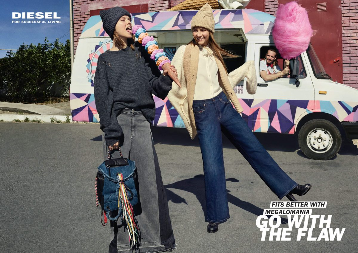 DIESEL GO WITH THE FLOW KAMPAGNE