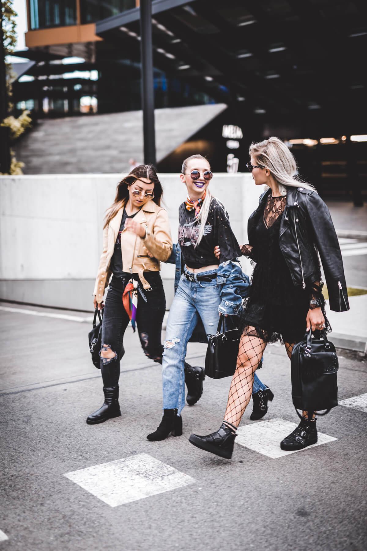 The Cosmopolitas: Kaja, Sara & Timo