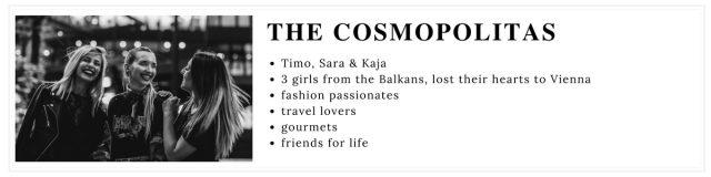 The Cosmopolitas www.thecosmopolitas.com