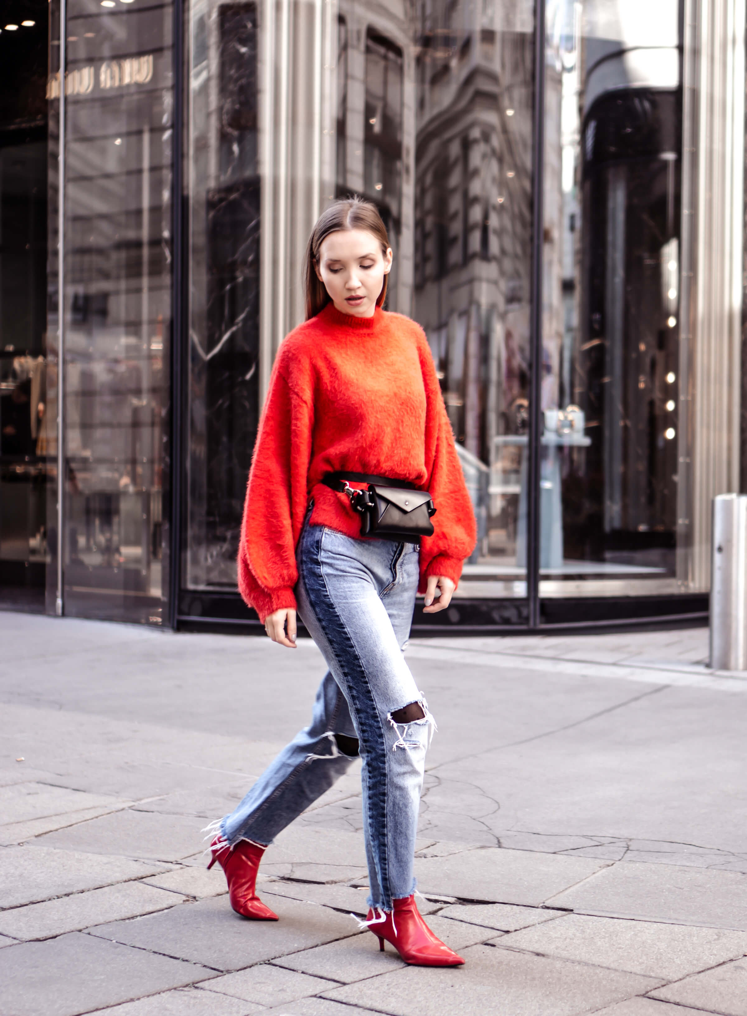 How to Wear Red Trend 2017