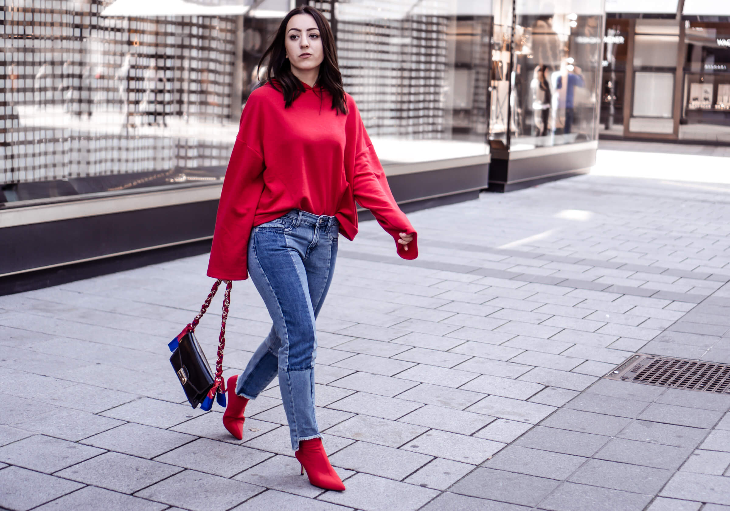 How to wear: Red Clothes