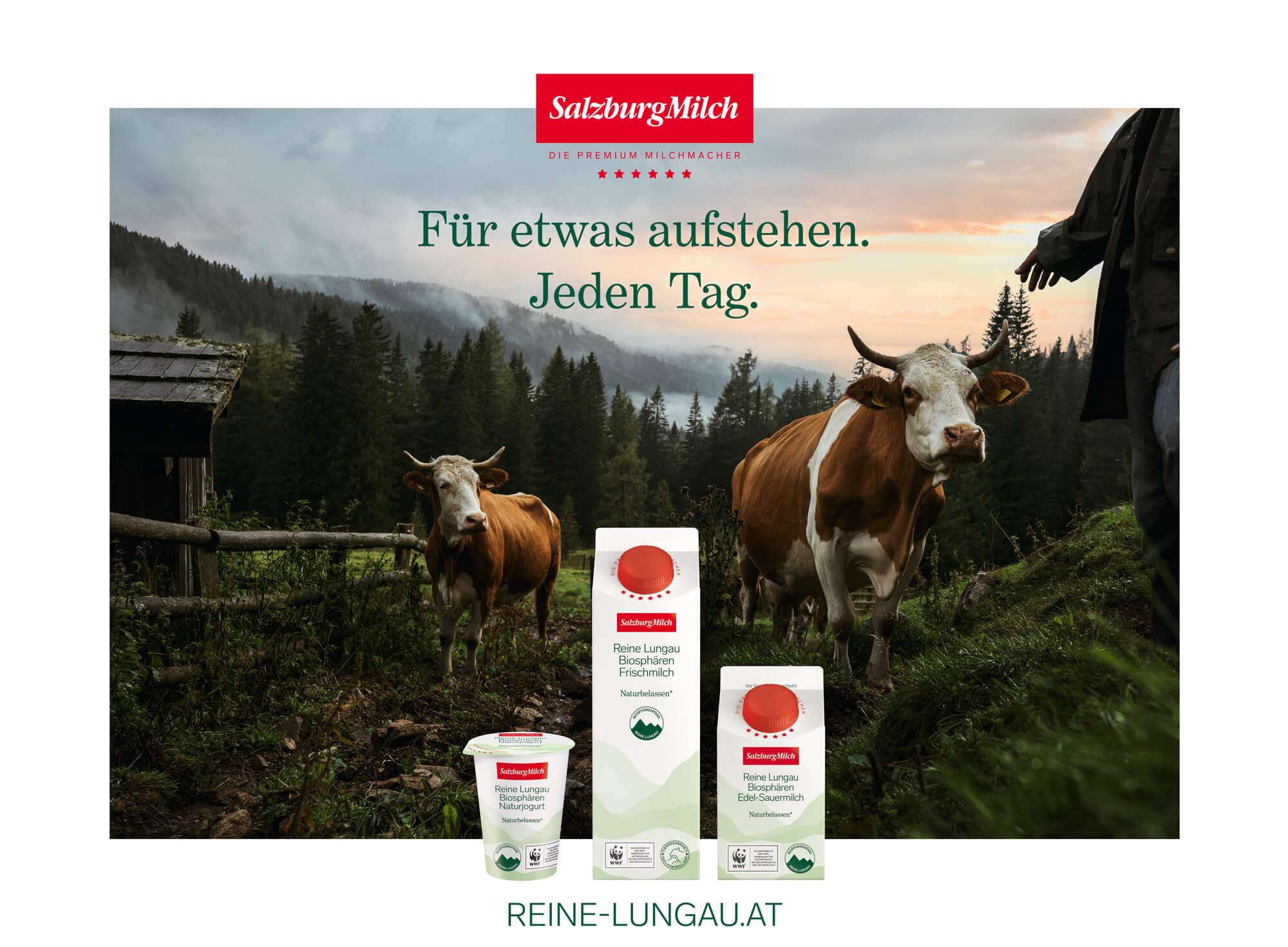 Gesamte Produktlinie Reine Lungau