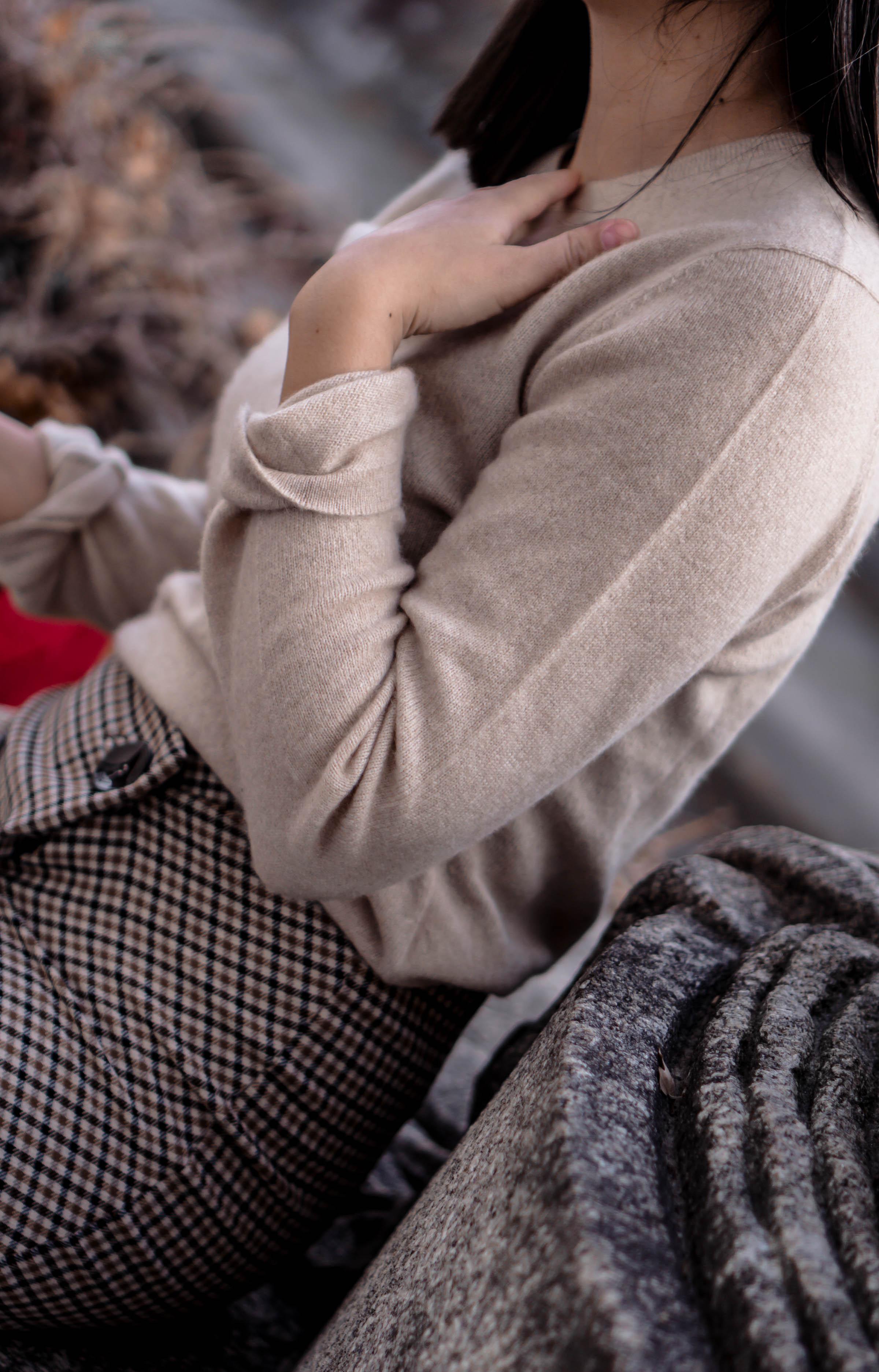Wie trägt man Kaschmir Pullover