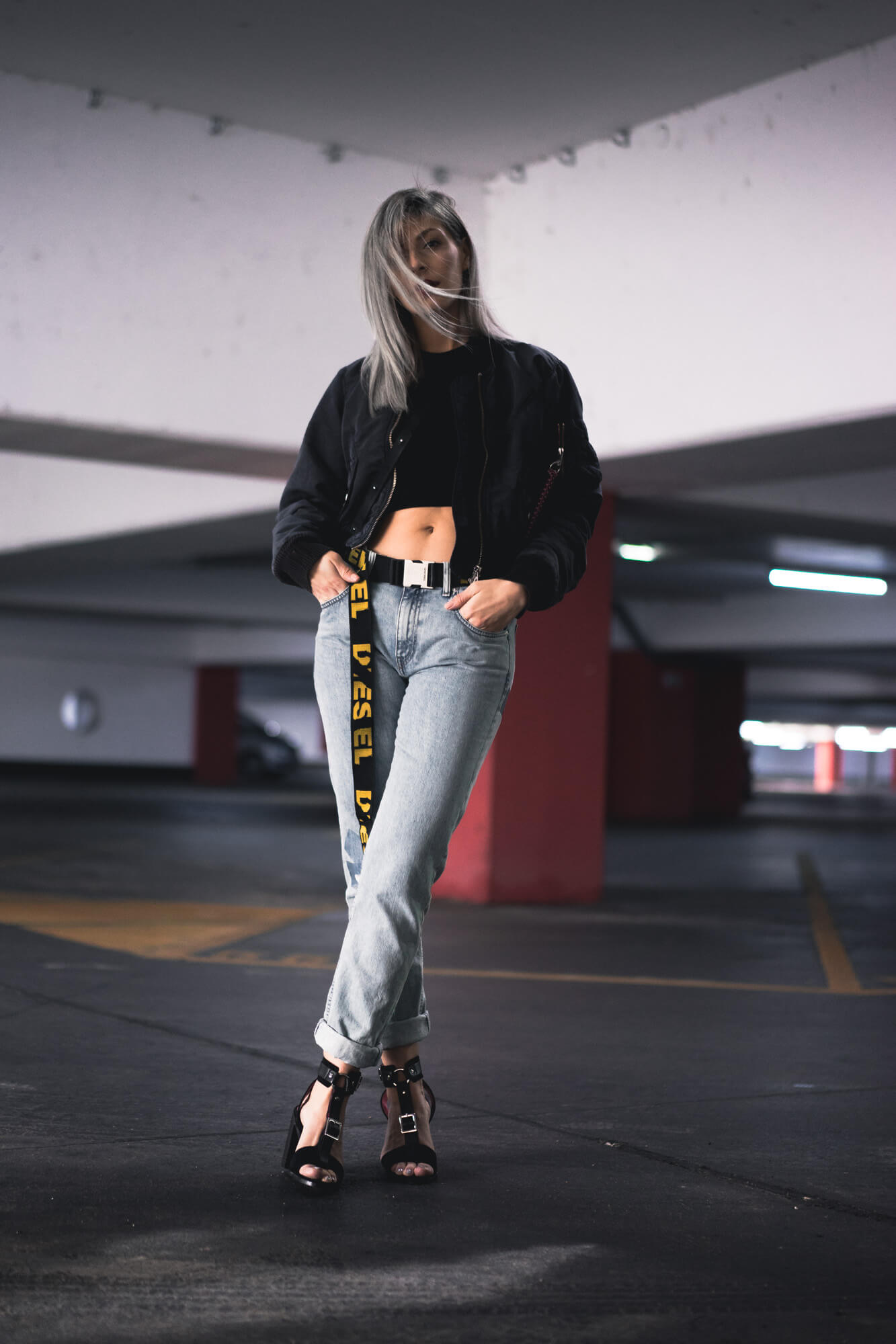 Diesel SS18 Extra Long Belt Trend