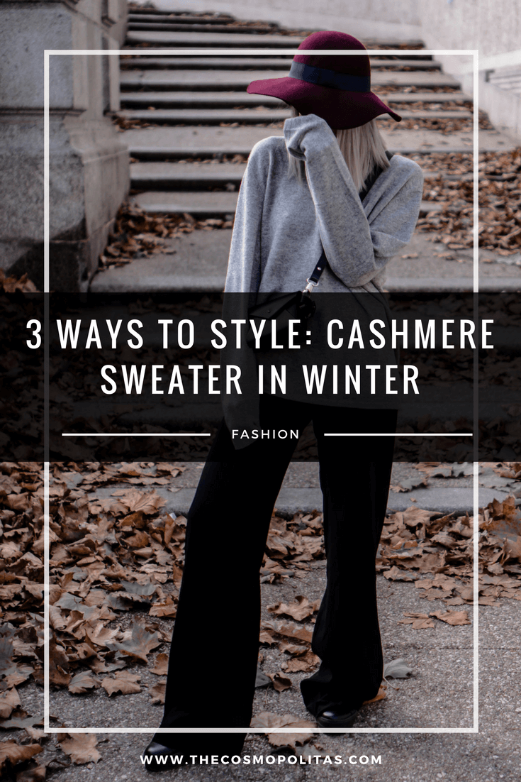 Pinterest 3 ways to style cashmere sweater in winter