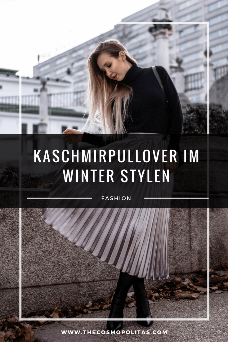 Kaschmirpullover im Winter stylen