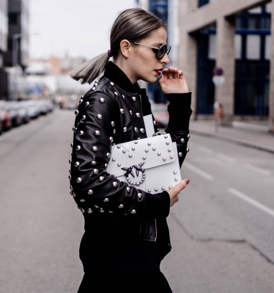 HOW TO CREATE: AN EDGY, YET FEMININE BIKER LOOK