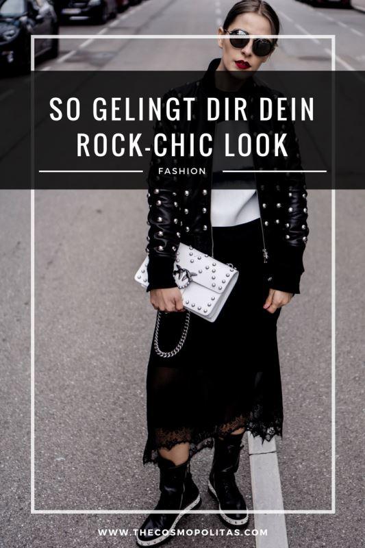 Mit diesen Tipps gelingt dir der Rock-Chic Look in wenigen Schritten