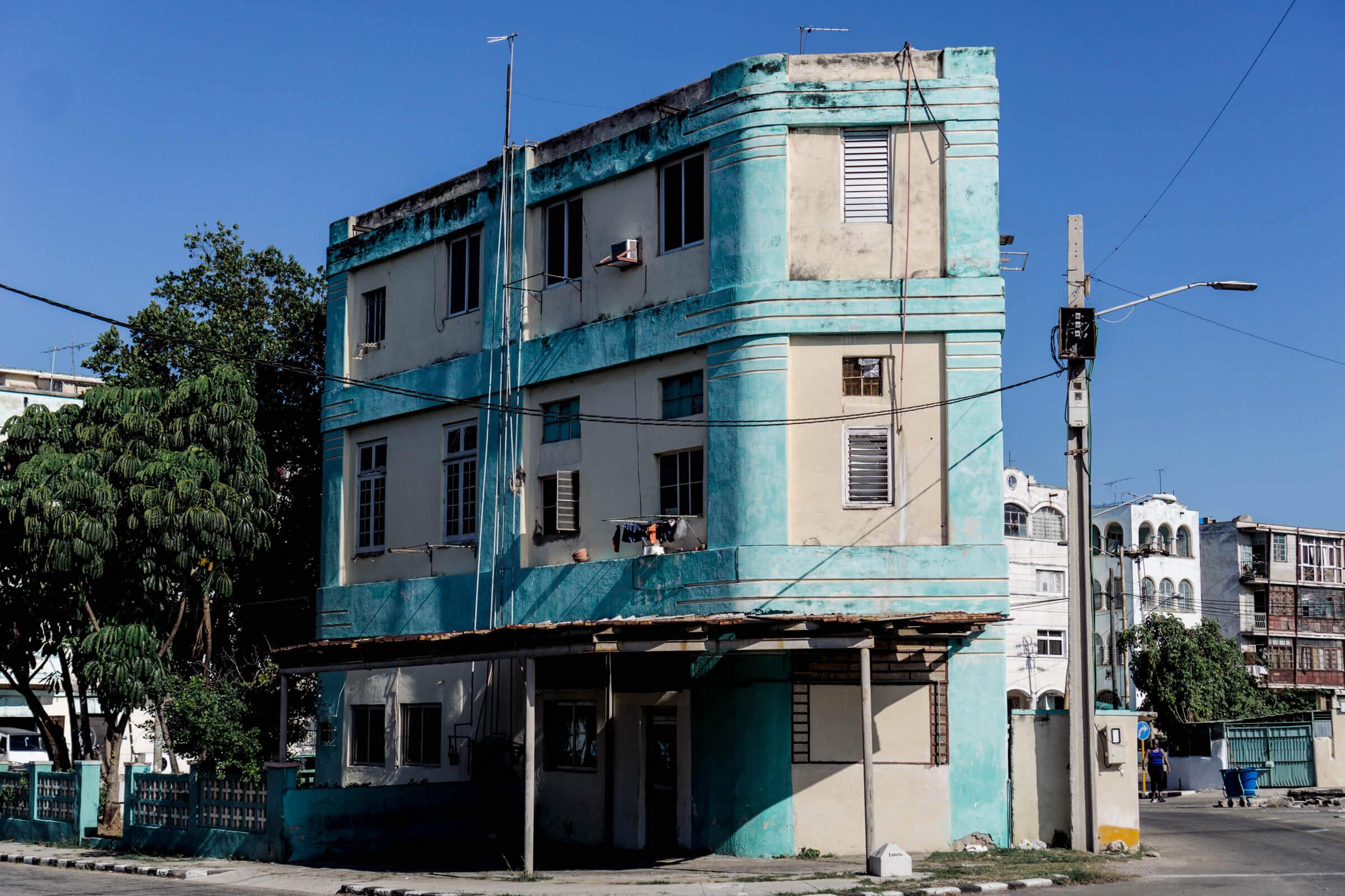 Havanna bunte alte Häuser