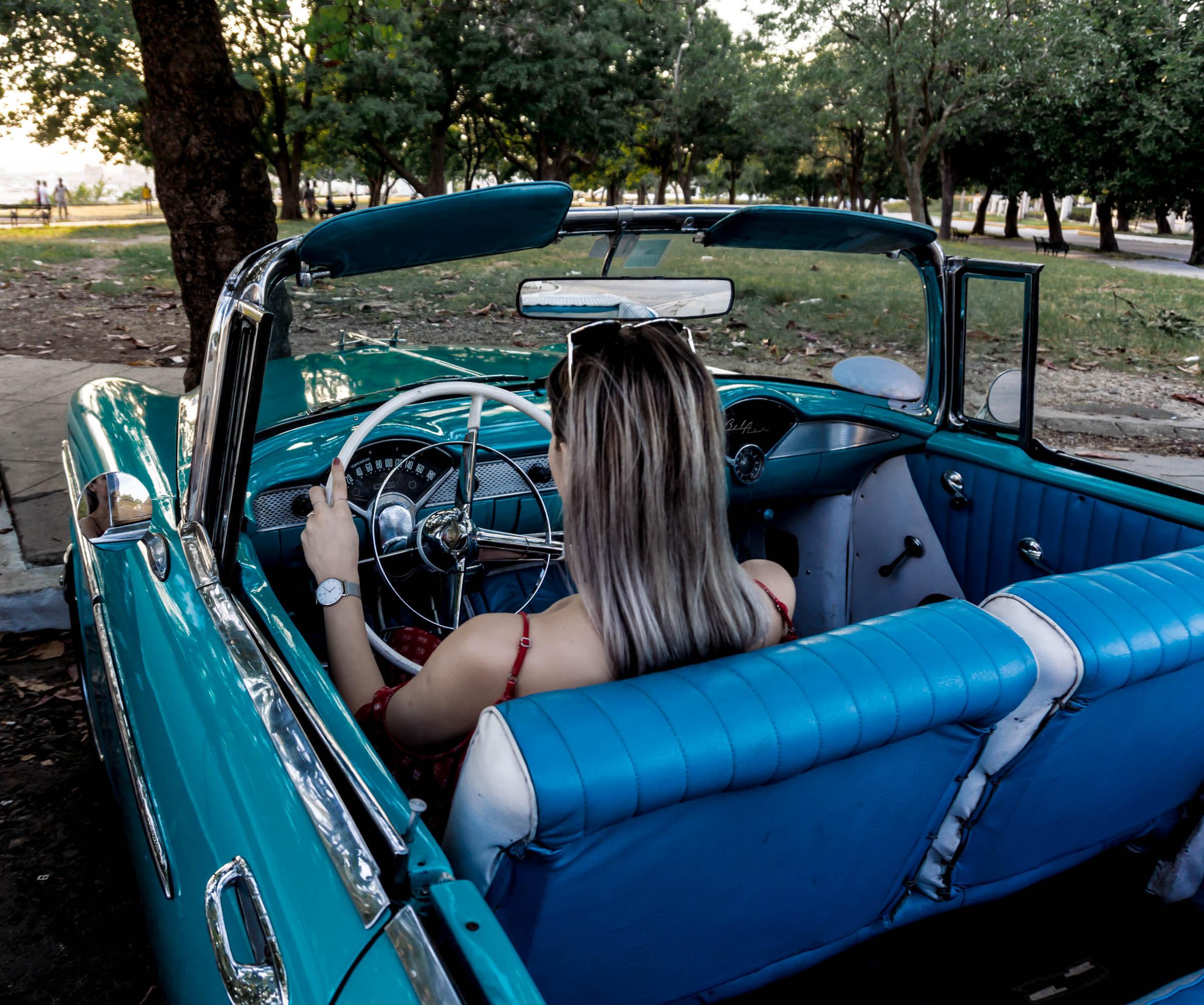 Oldimer Fahrt in Havanna