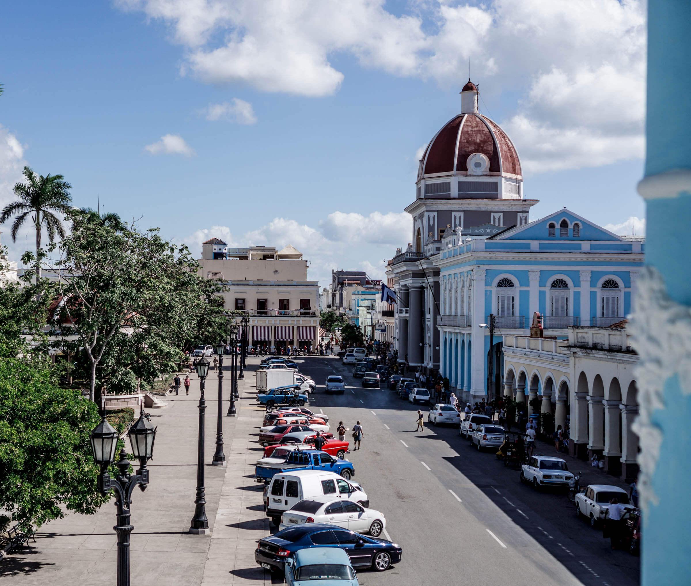 Cienfuegos Kuba Stadt Aussicht