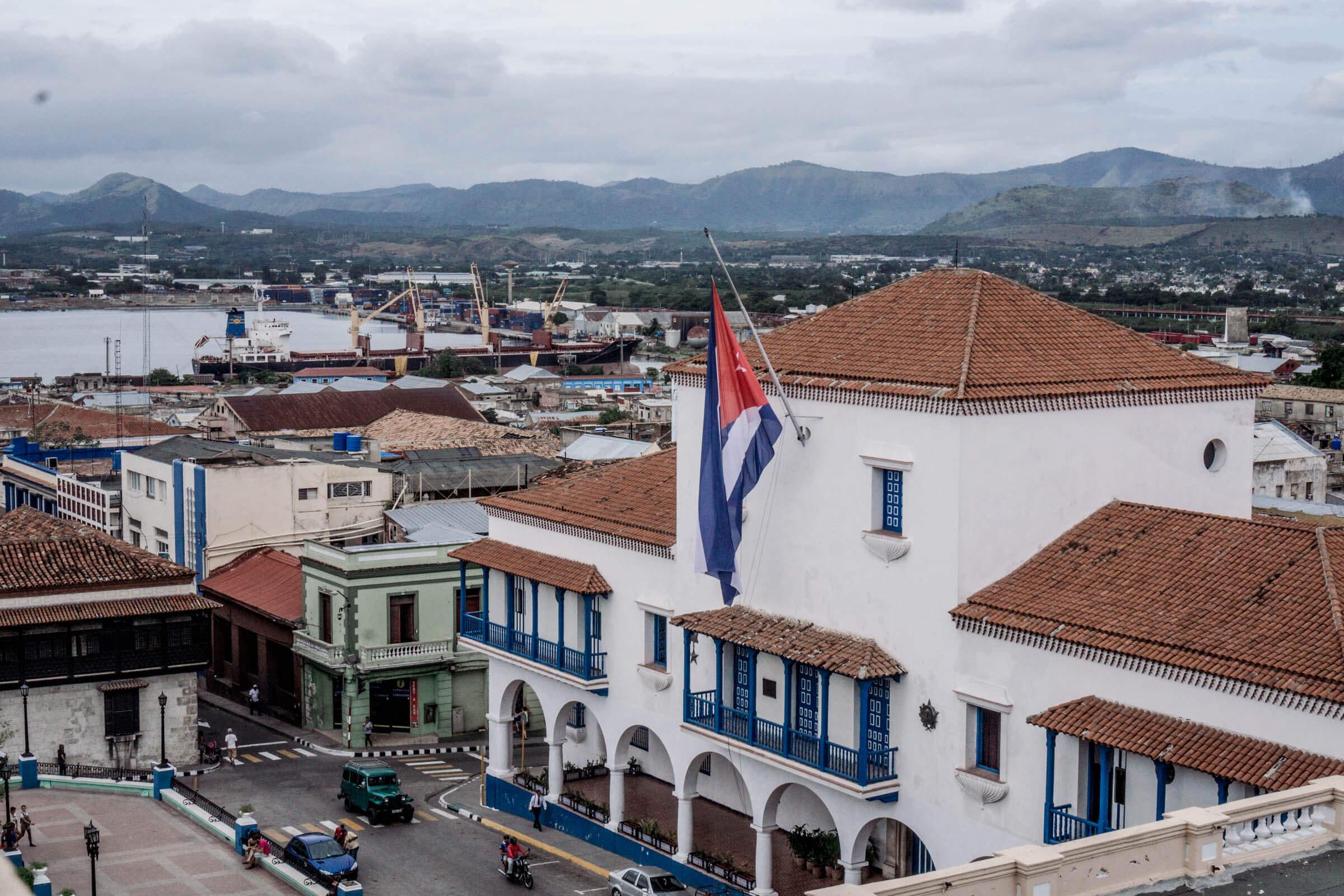 Santiago de Cuba Kuba Aussicht