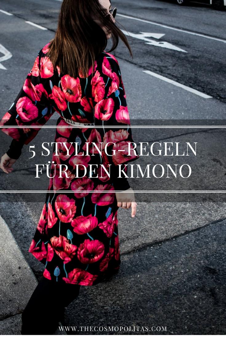 5 STYLING-REGELN FÜR DEN KIMONO
