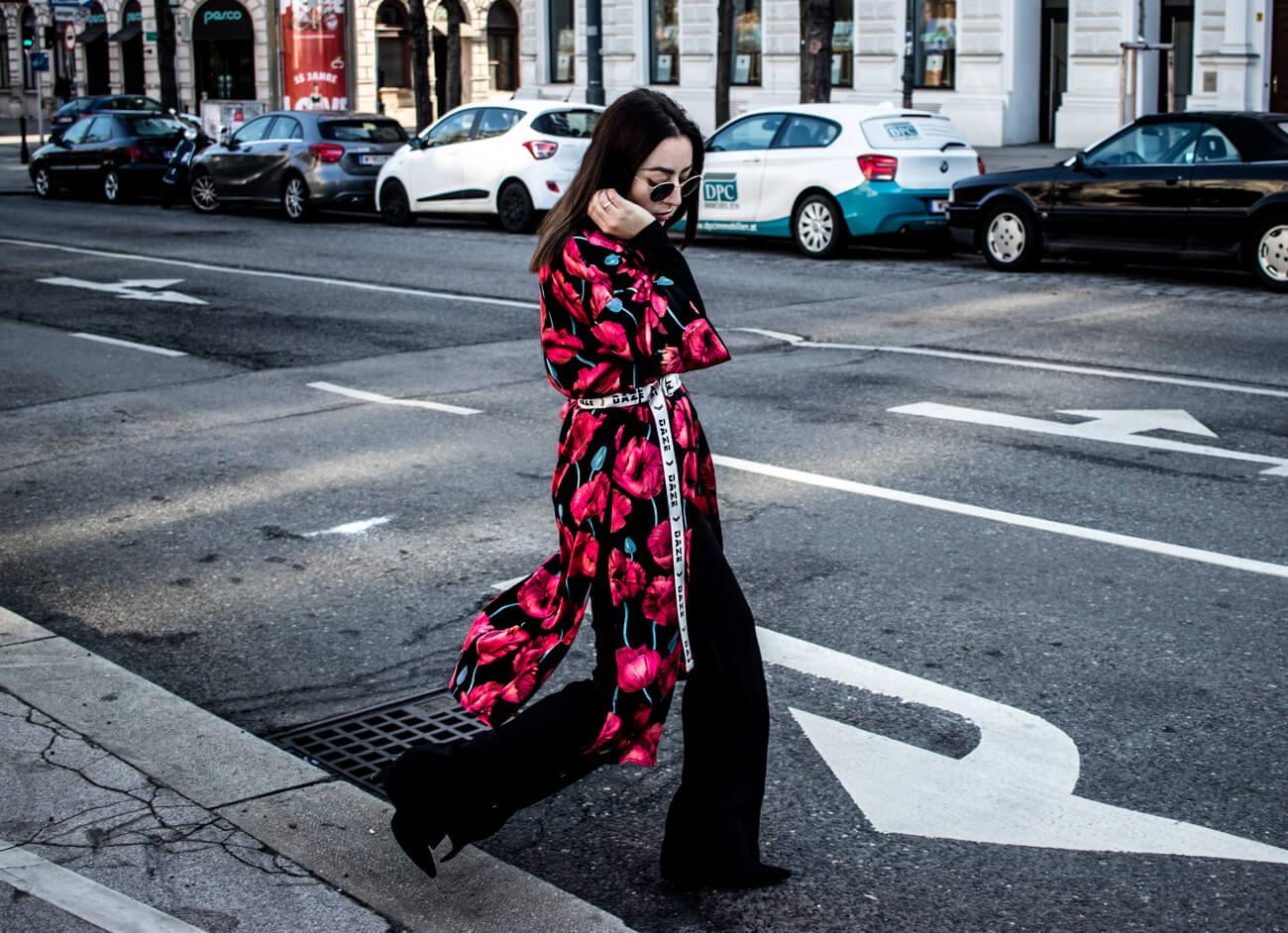 Wie kombiniert man den Kimono?