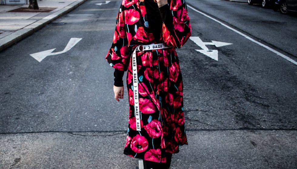 Wie trägt man einen Kimono?