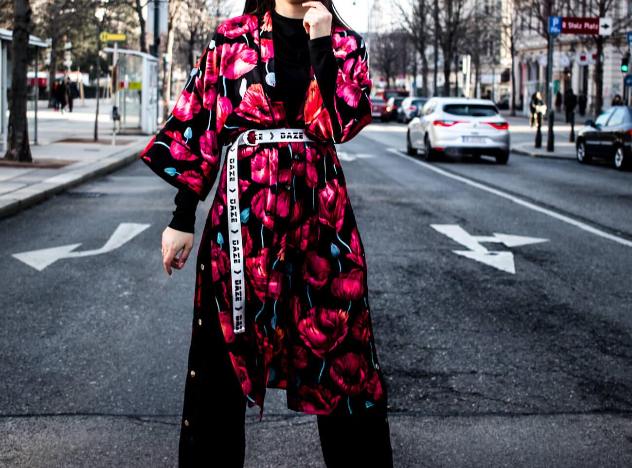 Stylings Regeln für den Kimono