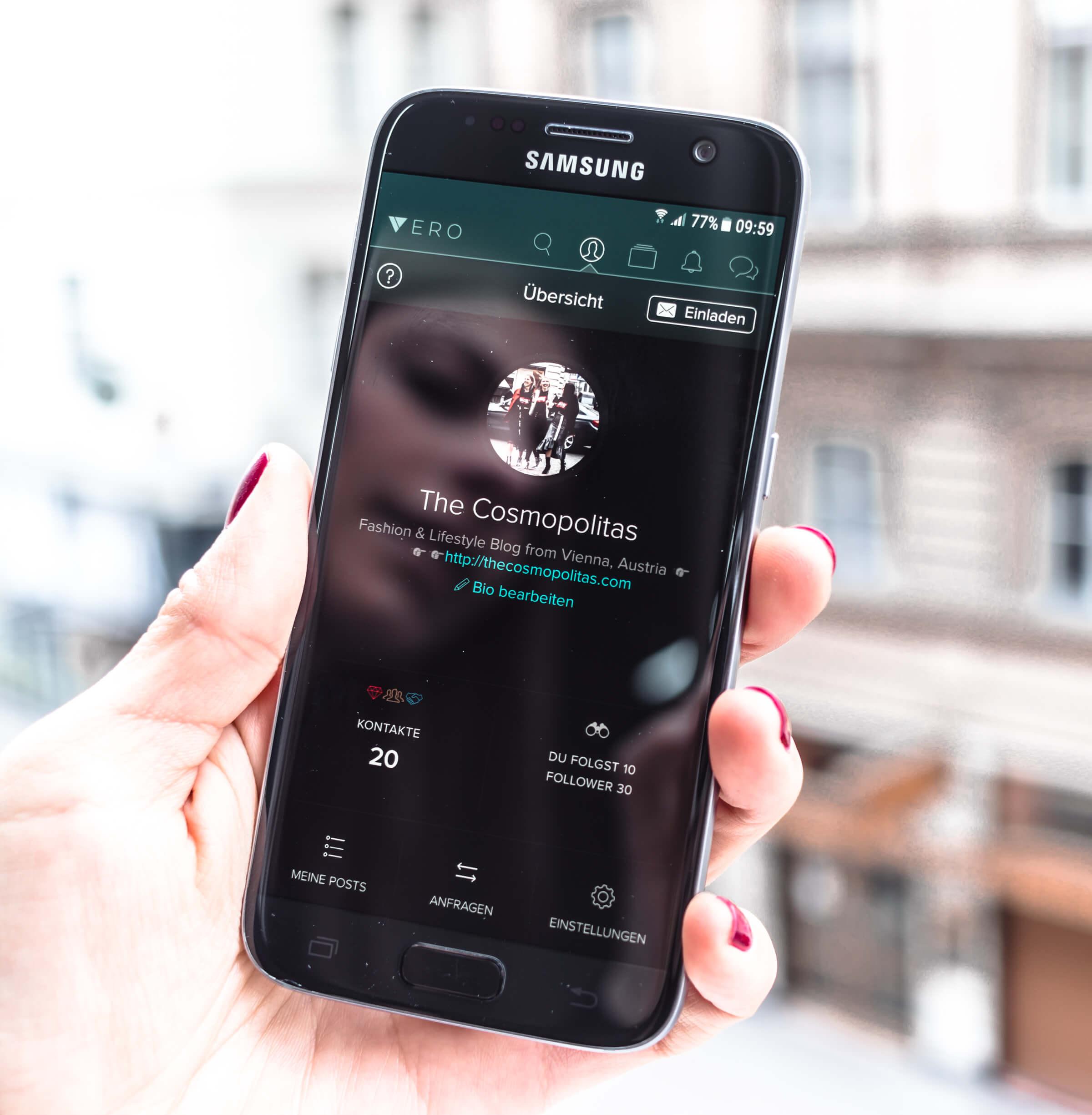 Vero App löst Instagram ab