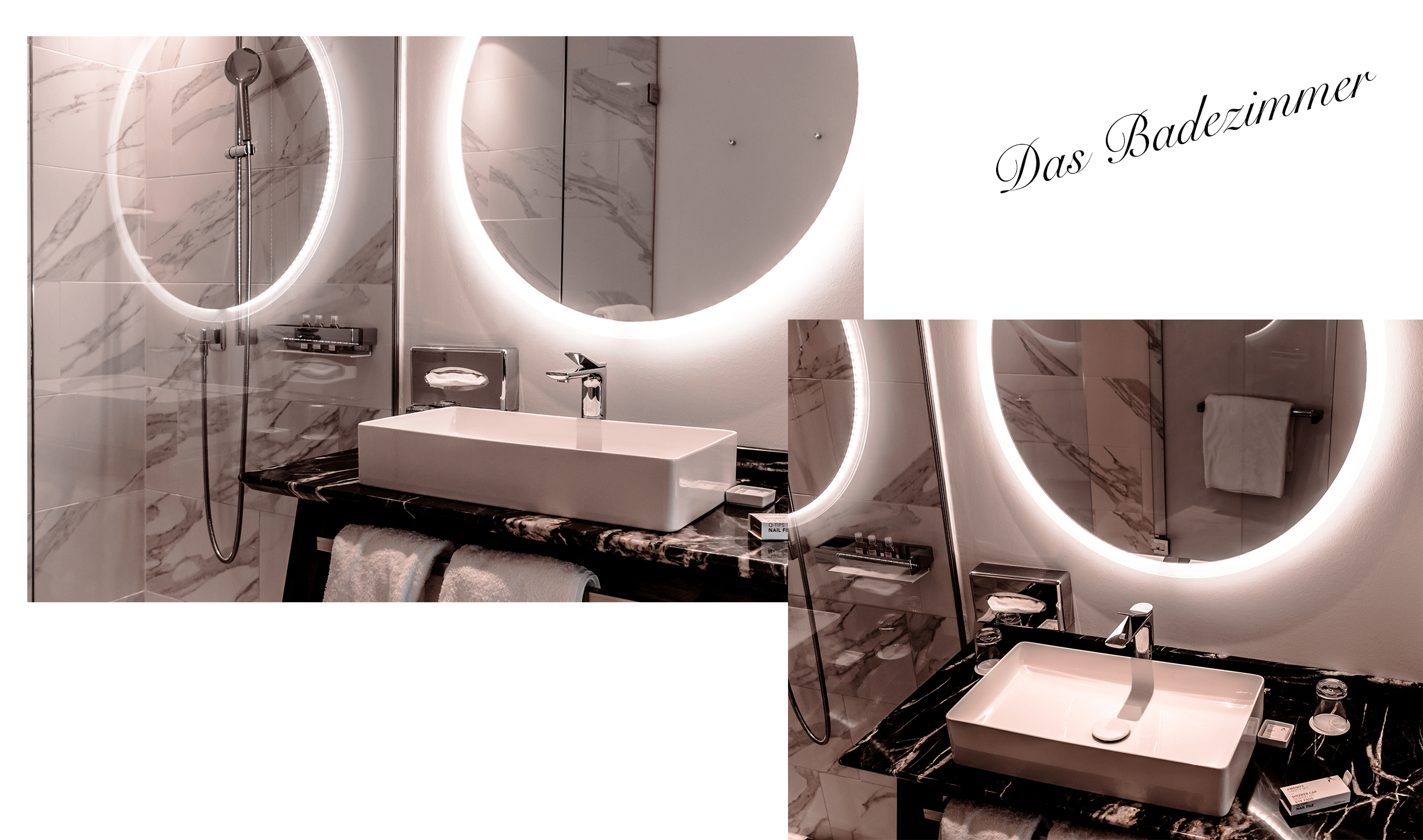 Luxus Marmor Badezimmer