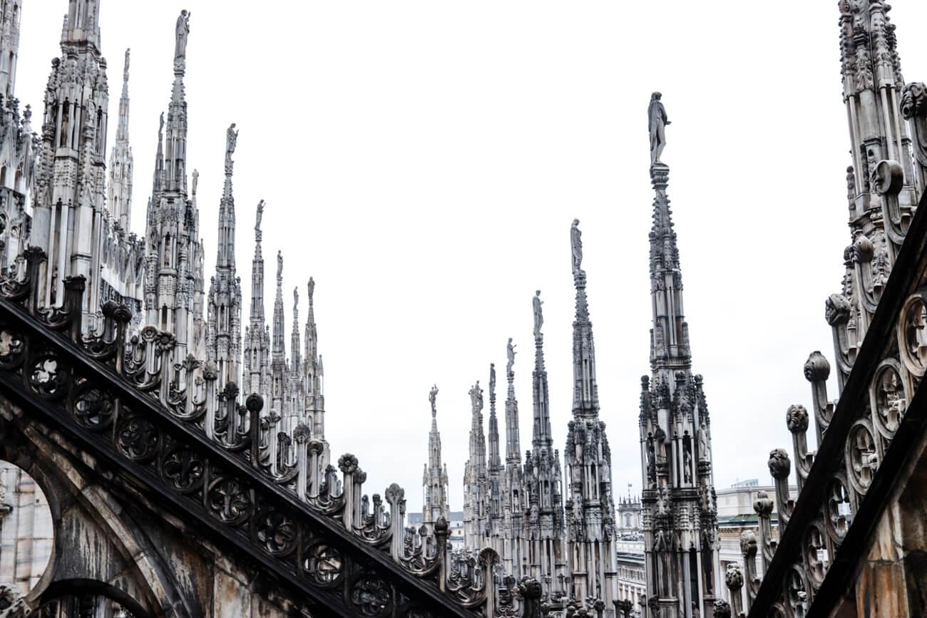 Wo im Mailand shoppen gehen?